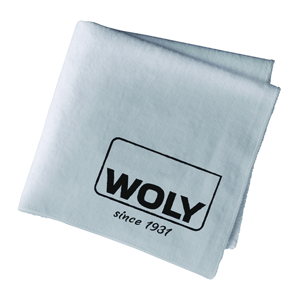 WOLY Polishing Cloth Grey 350x300mm