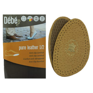 Debe Pure Leather Half Insole