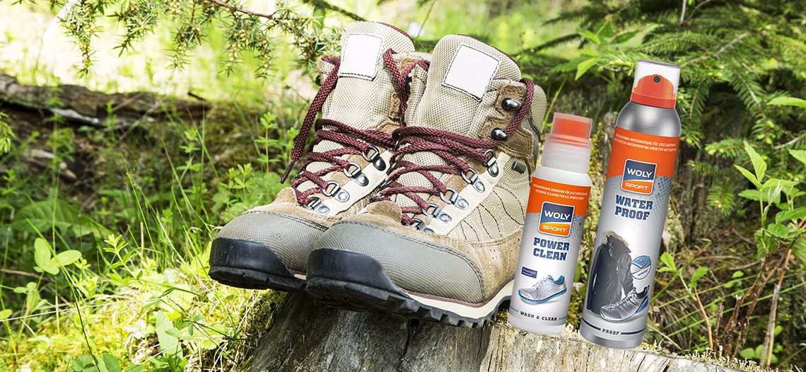 Hiking Boots with Woly Sport