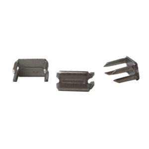 YKK 796970 Silver Bottom Stops